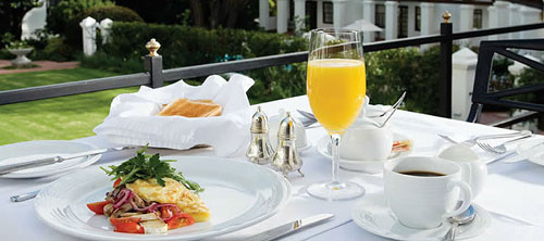 The Andros Boutique Hotel - Cape Reservations - Breakfast