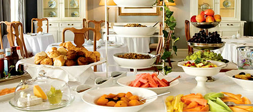 The Andros Boutique Hotel - Cape Reservations - Breakfast Buffet