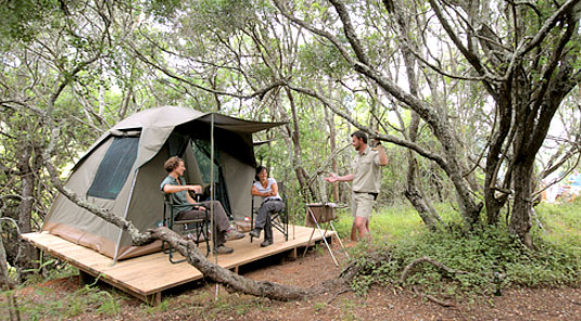 Overnight Bush Camp Experience - Kariega Game Reserve, Eastern Cape, South Africa