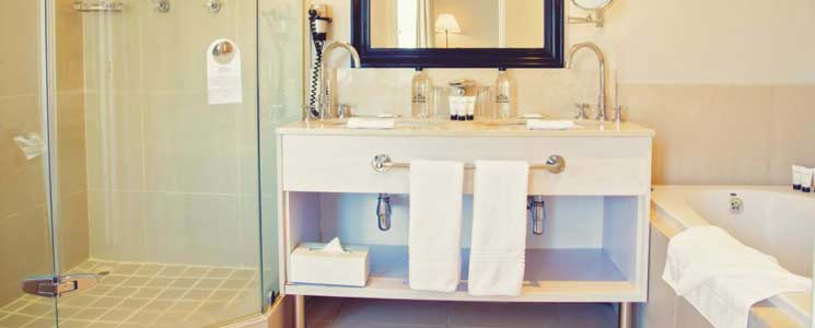 Deluxe Twin Bathroom, Le Franschhoek Hotel and Spa